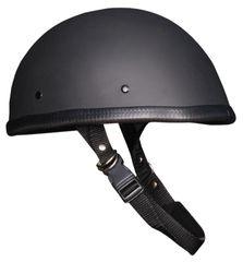 Flat Black E-Z Rider Novelty Helmet