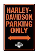 Harley Parking Only Sign