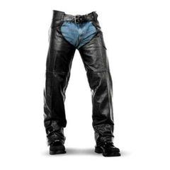 Basic Lined Leather Chaps