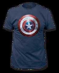 Captain America Winter Shield Adult T-shirt