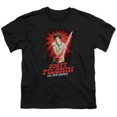 Scott Pilgrim vs The World Super Sword Youth T-shirt