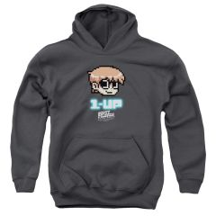 Scott Pilgrim vs The World 1 Up Youth Pull-Over Hoodie