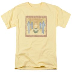 Journey Look Cover Banana 100% Cotton Short Sleeve Adult T-shirt