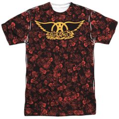 Aerosmith Vaction White Short Sleeve Adult T-shirt