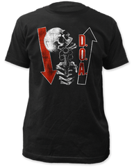 DOA Kill ya Later Black Cotton Short Sleeve Adult T-shirt