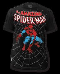 Spiderman Amazing Big Print Adult T-shirt