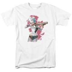 Suicide Squad Bat Aim Adult T-shirt
