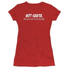 Christmas Not Santa Junior T-shirt