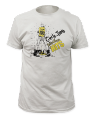 Circle Jerks Golden Shower White Cotton Short Sleeve Adult T-shirt