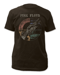 Pink Floyd Wish You Were Here Distressed Black Short Sleeve Adult T-shirt