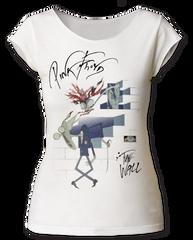 Pink Floyd Wife and Teach White Short Sleeve Women's T-shirt