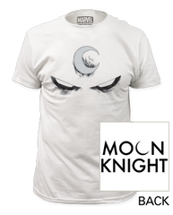 Moon Knight White Eyes Adult T-shirt
