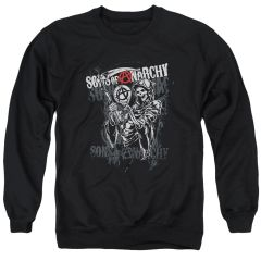 Sons of Anarchy Reaper Logo Crew neck Sweatshirt
