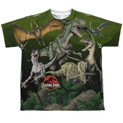 Jurassic Park Pack of Dinos Youth T-shirt