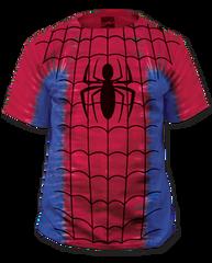 Spiderman Tye Dye Big Print Adult T-shirt