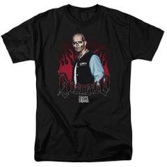 Suicide Squad Diablo Flames Adult T-shirt