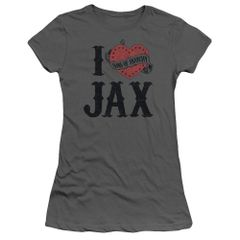Sons of Anarchy I Heart Jax Junior T-shirt