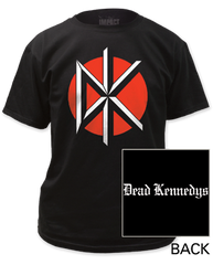 Dead Kennedys Logo with Back Print Adult T-shirt