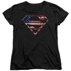 Superman Super Patriot Women's T-shirt