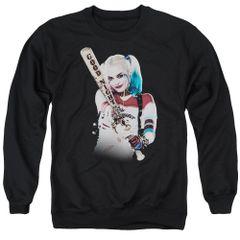 Suicide Squad Bat at You Adult Crew Neck Sweatshirt