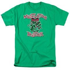 Christmas Mistletoe Tester T-shirt