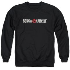 Sons of Anarchy Beat Up Logo Crew Neck Sweatshirt