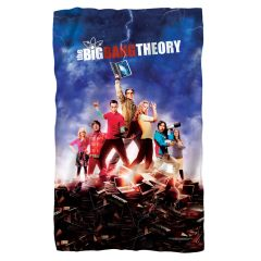 The Big Bang Theory Fleece Blanket
