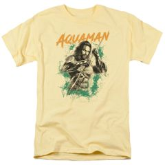 Aquaman Locals Only Banana Short Sleeve Adult T-shirt