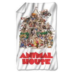 "Animal House Poster Fleece Blanket 36"" X 58"""