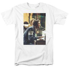 John Lennon Peace White Short Sleeve Adult T-shirt