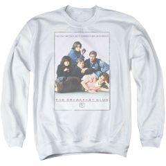 The Breakfast Club Poster Adult Crew neck Sweatshirt