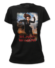 Black Widow Widow Punch Junior T-shirt