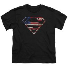 Superman Super Patriot Youth T-shirt