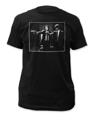 Pulp Fiction Jules and Vince Black Short Sleeve Adult T-shirt
