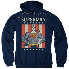 Superman Retro Liberty Pull-Over Hoodie