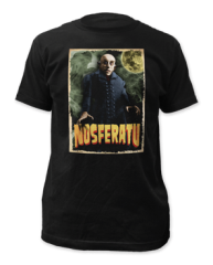 Nosferatu Black 100% Cotton Short Sleeve Adult T-shirt