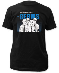 Germs What God Means to Me Black Short Sleeve Adult T-shirt