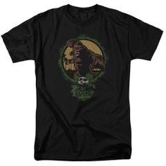 Kong Skull Island Wrath of Kong Black Short Sleeve Adult T-shirt