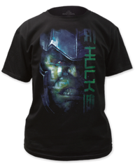 Thor Ragnarok Hulk Black Short Sleeve Adult T-shirt