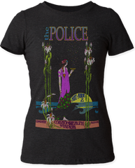 The Police Commonwealth Stadium Black Short Sleeve Junior T-shirt