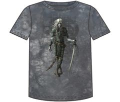 Fantasy Dark Elf Short Sleeve Adult T-shirt