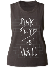 Pink Floyd The Wall Black Sleeveless Women's Tank T-shirt
