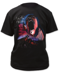 Pink Floyd Hammer March with Face Black Short Sleeve Adult T-shirt