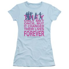 The Breakfast Club Forever Light Blue Short Sleeve Junior T-shirt