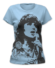 Jefferson Airplane Grace Slick Womens T-shirt