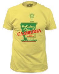 Dead Kennedys Holiday in Cambodia Banana Cotton Short Sleeve Adult T-shirt