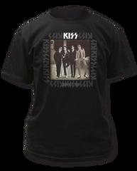 KISS Dressed to Kill Black Short Sleeve Adult T-shirt