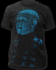 Hellraiser Pinhead Sublimation Print Black Short Sleeve Adult T-shirt
