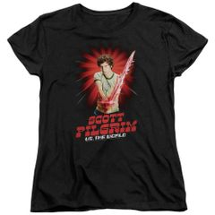 Scott Pilgrim vs The World Super Sword Womens T-shirt
