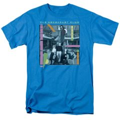 The Breakfast Club Tree Turquoise Short Sleeve Adult T-shirt